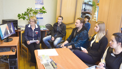 Заседание Молодежного Совета обкома