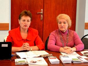 Заседание президиума Тульского обкома работников химических отраслей промышленности