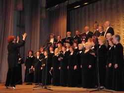 Творческий коллектив – хоровая капелла