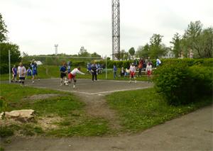 Соревнования по воллейболу