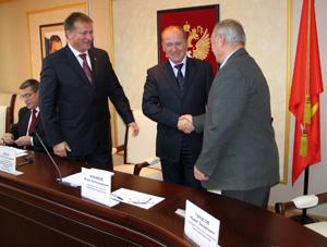 Заседание областной трехсторонней комиссии