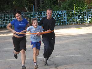 Cемейные спортивные соревнования среди энергетиков Тульской области, посвященные памяти Василия Голубкова