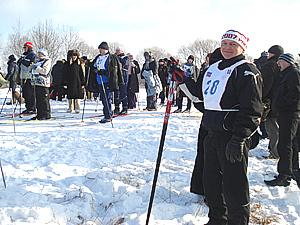Соревнования лыжи