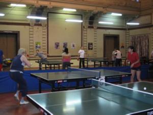 Спортивные соревнования по настольному теннису