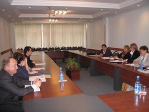 Состоялась рабочая встреча руководства с председателями первичных профсоюзных организаций и их представителем