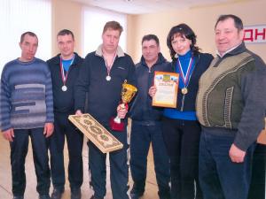 Команда Белевского РЭС заняла первое место в лыжных гонках