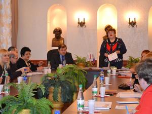 Заседание президиума Тульского обкома профсоюза