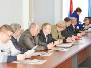 пленум Тульского обкома профсоюза работников автомобильного транспорта и дорожного хозяйства
