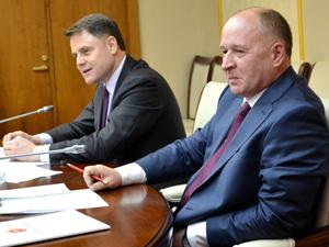 Встреча профсоюзного актива региона с губернатором Владимиром Груздевым