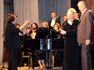 Концерт на сцене ДК профсоюзов