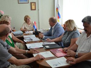 Заседание Президиума Тульского обкома  «Электропрофсоюз» 28 мая 2013года