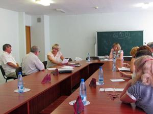 Семинар с председателями первичных профсоюзных организаций обкома