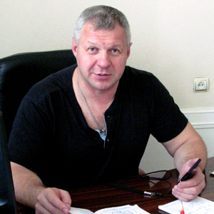 Директоро Тульского государственного цирка ФКП «Росгосцирк» Андрей Гоголев