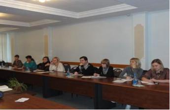 Занятие для членов Молодежного Совета ТФП