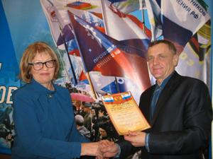 Тихонов Д.В. вручил медаль «Затрудовую доблесть III степени»