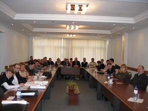 Семинар спредседателями первичных профсоюзных организаций исуполномоченными лицами поохране труда