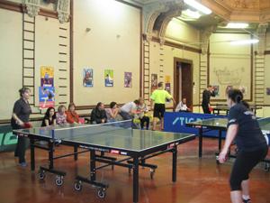 Соревнования по настольному теннису среди работников предприятий энергетики Тульской области