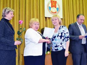 Вручение Свидетельств Академии труда и социальных отношений