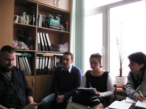 Первое заседание Молодежного Совета Тульского обкома
