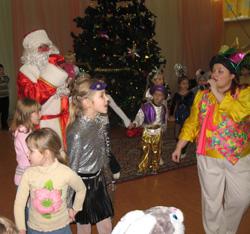 Новогоднее представление для детей профсоюзных работников
