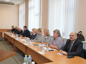 Заседание Комиссии ЦК ВЭП