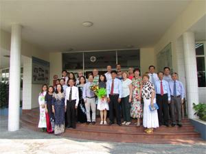 Делегация ВЭП «Электропрофсоюз» воВьетнам