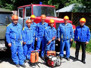 Противопожарное звено Тульской ПХС