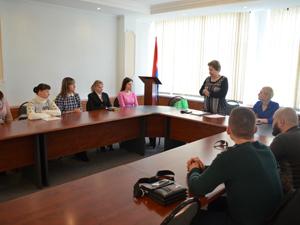 Организационное заседание молодёжного Совета