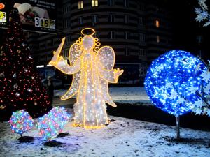 Ангелы на снегу