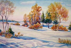 Картина воспитанника Антонова Г.Н.