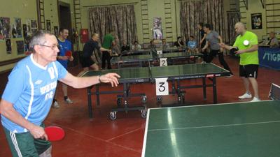 Турнир понастольному теннису, посвященный Дню энергетика