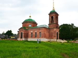 Церковь вселе Ржавец