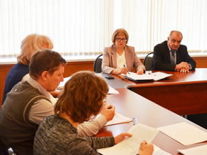Заседание президиума областного Электропрофсоюза