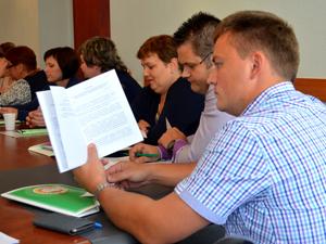 Областная отчетно-выборная конференция профсоюза работников АПК